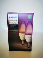 2 Ampoules Philips Hue white and color E14 NEUF