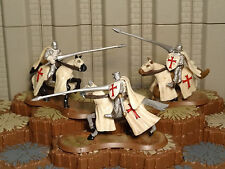 Templar Knights Cavalry -Heroscape- Wave 7- Fields of Valor- Free Ship Available