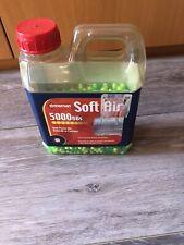Crosman airsoft BBs preowned 6mm plastic BBs half full bottle