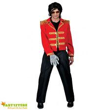 giacca michael jackson 56/58 costume carnevale re del pop travestimento pop star