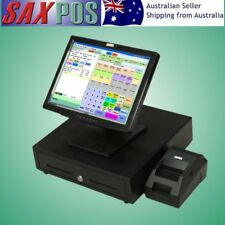 SAXPOS S2301 Basic Complete TouchScreen POS (Point of Sale) System with Software