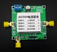 New AD584 4-Channel 2.5v/7.5v/5v/10v High Precision Voltage Reference Module