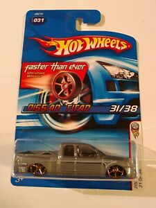 "HotWheels 🔥""2006 FIRST EDITIONS""NISSAN TITAN faster than ever,htf"