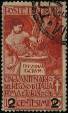 Italy 1913 stamps commemorative USED Sas 100 CV $9.35 180506015