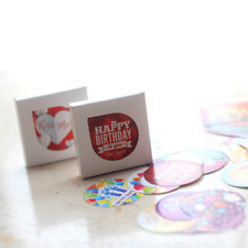 Happy Birthday Stickers DIY Scrapbooking Decorations Handmade Gifts Labels 2019