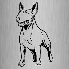 English Bull Terrier Sticker Vinyl Car Dog Decal 200mm x 115mm