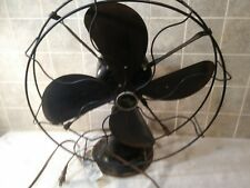 Antique Emerson Electric Table Fan type 73648 Vintage 3 Speed Metal