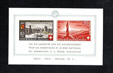 NICE MINT S/SHEET OF SWITZERLAND, (PRO PATRIA),1942, MNH**