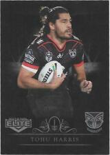 2018 NRL Elite Silver Special Parallel (SS144) Tohu HARRIS Warriors