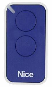Nice INTI 2B Channel Remote Control - NICE Era - Inti 2B - Blue