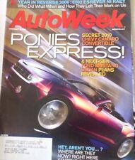 AutoWeek Magazine Chevy Camaro Convertible December 18, 2006 080217nonrh