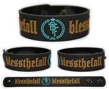 BLESSTHEFALL Rubber Bracelet Wristband  Hollow Bodies Awakening Witness