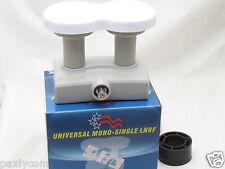FTA UNIVERSAL 4 Degree Mono Single MONOBLOCK  Ku Band LNB LNBF Mono Block