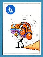 AUTO FLASH - Ed.COX - Figurina/Sticker n. 8 - VIALE PEDONALE -New