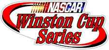 "Winston Cup Series Nascar Racing Car Bumper Window  Notebook Sticker Decal 6""X3"""
