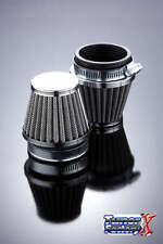 YAMAHA Motorcycle 39 mm Chrome Cone Power Air Filter