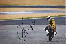 Adrian Martin Moto 3 Hand Signed Honda Photo 5x7 2012 1.