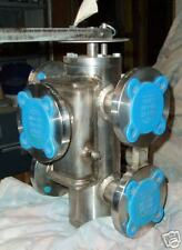 Hilliard 3-way transfer valve stainless steel