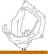 BMW OEM 10-15 750Li 4.4L-V8 Evaporator Heater-Blower Cover 64119216222