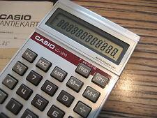 Casio LC 1210  Taschenrechner .  Alt  30 Jahre