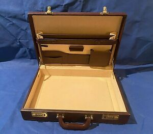 Unbranded Faux Leather Hard Shell Briefcase Combination Lock