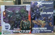Takara Transformers United Bruticus+Crossfire Fansproject Explorer Munitioner