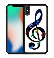 Mini Colourful Notes On Massive Music Note Music Lover Soft Fine Gel Phone Case