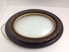 Art.207 - Magnifica CORNICE ovale epoca Napoleone III