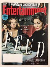 Entertainment Weekly Magazine 1/27/2017 Jessica Lange Susan Sarandon The Obamas