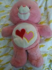 Interactive Talking Singing Love A Lot Care Bear Plush Pals Pink Tested Works