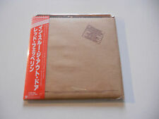 "Led Zeppelin ""In through the out door"" Rare Japan cd Paper Sleeve"