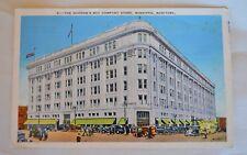 VTG1939 Posted Postcard The Hudson's Bay Co Store Winnipeg Manitoba Canada