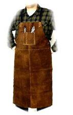 "Steiner 92166 Bib Apron, Weld-rite Premium Brown Split Cowhide, 24"" x 42"""