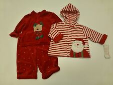 3 Piece Outfit Baby Girls Size Size 0-6 Months Christmas Lot New Great Condition