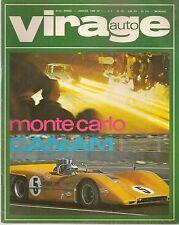 VIRAGE AUTO 1969 1 CANAM 68 BMW 2500 JAGUAR XJ6 MERCEDES 250 W114 CRITE CEVENNES