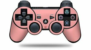 Skin for PS3 Controller Solids Collection Pink CONTROLLER NOT INCLUDED