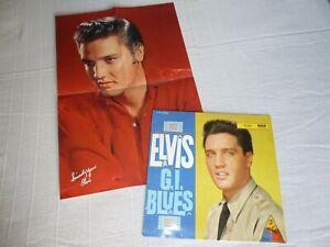 Elvis PRESLEY - G.I. Blues - Lp + rare Color Poster