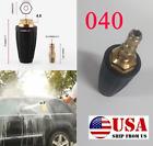 """4.0 Car High Pressure Washing Gun Tool Parts 1/4"""" Rotating Turbo Nozzle 3600psi"""