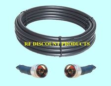 100 ft RFC600 low loss 50 Ohm Coax CB Ham Antenna Cable LMR600 compatible N-N