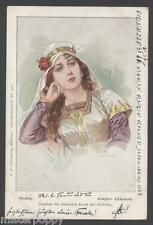 F. B. DOUBEK SCHEFFEL PC 475 HADWIG 1899 Rare Opera THEATRE