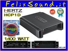 Hertz HCP 1D Amplificatore Mono Class D x Sub 1400W GARANZIA ITALIA + OMAGGIO