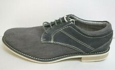 Steve Madden Size 10 Leather Canvas Oxfords New Mens Shoes