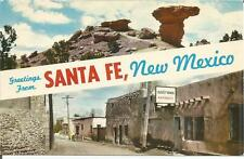 ag(F) Santa Fe, NM: Rock Camel and Oldest House in the USA