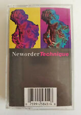 NEW ORDER - Technique (1989, Cassette Tape) on Qwest Records