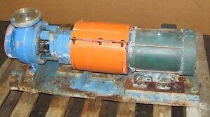 SUMMIT 2196ST0 2 X 3-6 S/S 3HP 208-230/460V 3PH 1750 RPM CENTRIFUGAL PUMP
