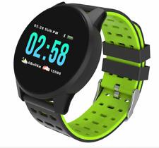 TimeTech Fitness Tracker, Smart Watch, Schrittzähler, Kalorienzähler Puls Grün