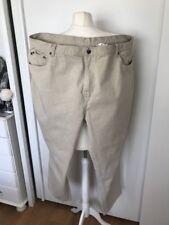 Stealth Premium Denim Men's Beige Jeans Waist 48 Leg 29