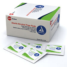 2 Boxes of 200 MEDIUM ALCOHOL PREP PADS SWABS WIPES 400 BRAND NEW ! #1113