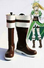 Sword Art Online Alo Lyfa Leafa Suguha Kirigaya Cosplay Boots Boot Shoes Shoe