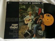 ROGER CHAPUT Guitare A Danser Jean-Francois Gael LP played with Django Reinhardt